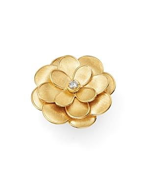 Marco Bicego 18k Yellow Gold Petali Diamond Ring
