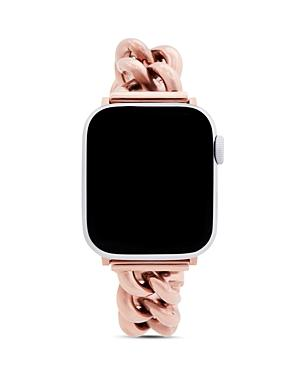 Rebecca Minkoff Apple Watch Rose Gold-tone Link Bracelet, 38mm & 40mm