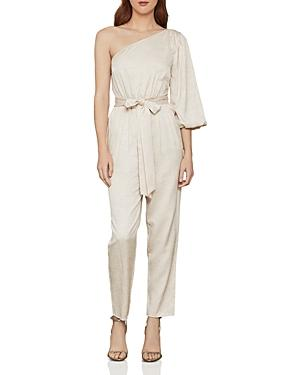 Bcbgmaxazria Single Puff-sleeve Jumpsuit