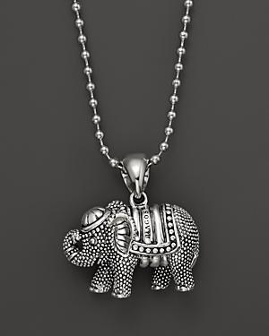 Lagos Rare Wonders Elephant Pendant Necklace, 34