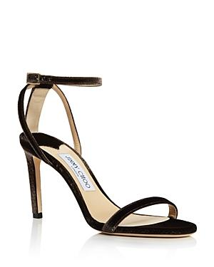 Jimmy Choo Women's Minny 85 Strappy Sandals