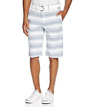 Buffalo David Bitton Harno Flat Front Shorts - Compare At $74