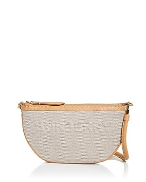 Burberry Olympia Canvas Pouch Shoulder Bag