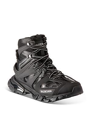 Balenciaga Men's Track Hike High Cut Sneakers
