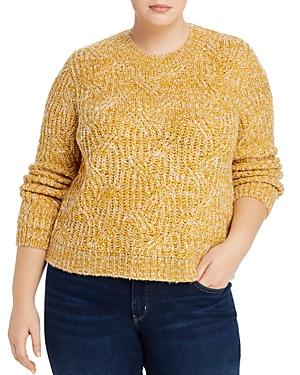 Aqua Curve Marled Crewneck Sweater - 100% Exclusive
