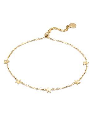 Gorjana 18k Gold-plated Super Star Charm Slider Bracelet