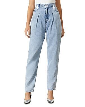 Grlfrnd Teagan High Waist Baggy Jeans In Please Me