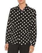 Sandro Dots Polka Dot Shirt