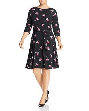 Leota Plus Ilana Floral Belted Dress