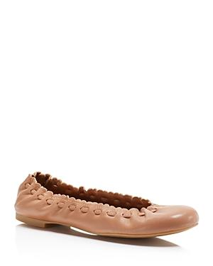 See By Chloe Jane Scalloped Ballet Flats
