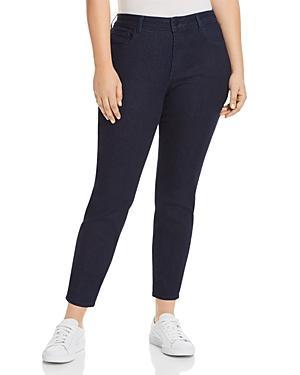 Nydj Plus Ami Super Skinny Ankle Jeans In Rinse