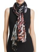 Echo Animal Tubular Wrap Scarf