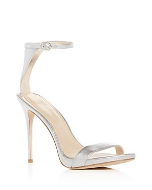 Imagine Vince Camuto Dacia 2 Metallic Leather High-heel Sandals