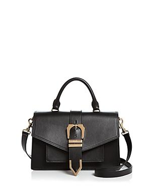 Versus Versace Top Handle Buckle Satchel