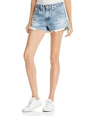 Ag Sadie Cutoff Denim Shorts In Ingenue