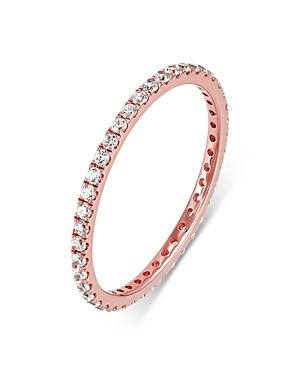 Bloomingdale's Diamond Stacking Eternity Band In 14k Rose Gold, 0.30 Ct. T.w. - 100% Exclusive