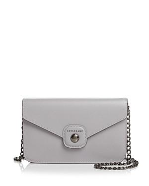Longchamp Le Pliage Heritage Small Leather Convertible Crossbody