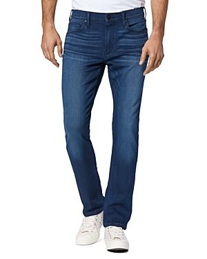 Paige Federal Straight Slim Fit Jeans In Massey