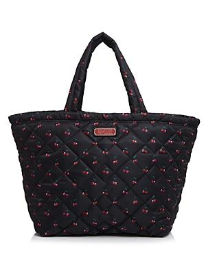 Marc By Marc Jacobs Crosby Quilt Nylon Cherry Print Weekender