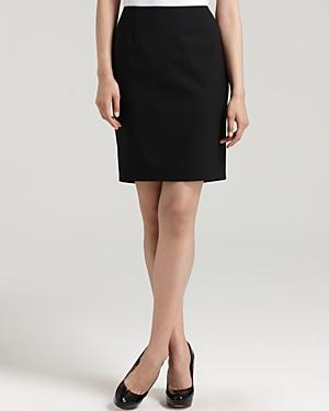 Elie Tahari Bennet Stretch Wool Pencil Skirt