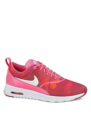Nike Lace Up Sneaker - Women's Nike Air Max Thea Print