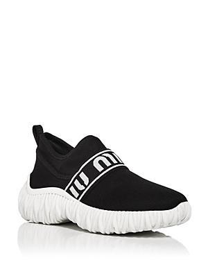 Miu Miu Women's Calzature Donna Slip On Sneakers