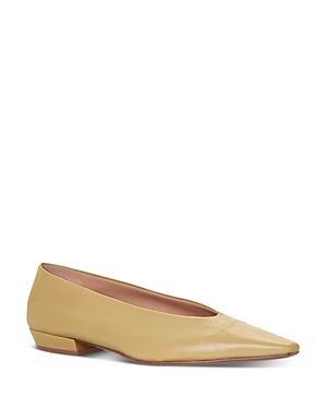 Bottega Veneta Women's Pointed Square Toe Flats