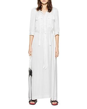 Zadig & Voltaire Remedy Satin Maxi Dress