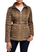 Vince Camuto Belted Channel Quilted Jacket