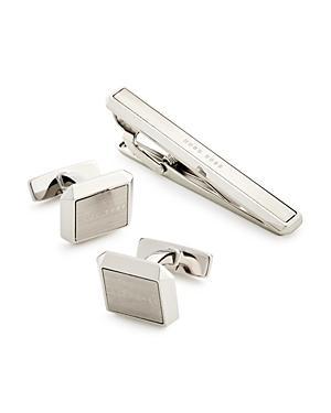Boss Hugo Boss Cufflinks & Tie Clip Set