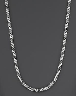 Lagos Sterling Caviar Silver Rope Chain Necklace, 16