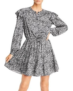 Rebecca Minkoff Hannah Botanical-print Mini Dress