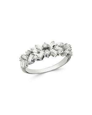 Bloomingdale's Diamond Scatter Band In 14k White Gold, 0.50 Ct. T.w. - 100% Exclusive