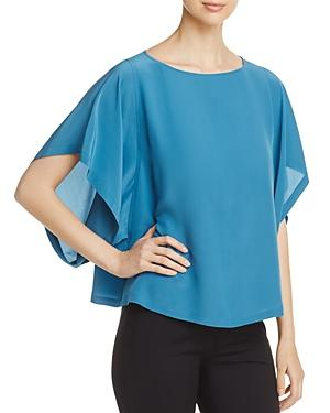 Eileen Fisher Silk Box Top - 100% Exclusive