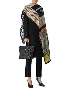 Burberry Mixed Archive Print Silk Scarf