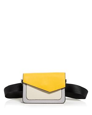 Botkier Cobble Hill Leather Crossbody Belt Bag