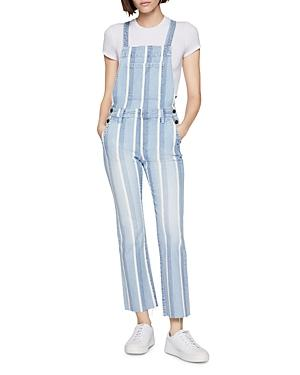Bcbgeneration Striped Denim Overalls