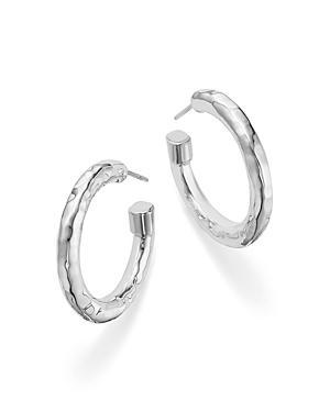 Ippolita Sterling Silver Glamazon Hoop Earrings