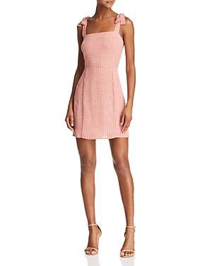 Sage The Label Positano Gingham Dress