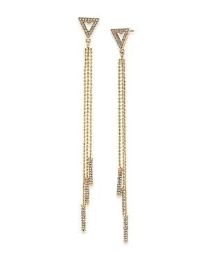 Abs By Allen Schwartz Chain & Bar Drop Earrings