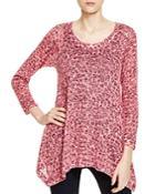 Nally & Millie Leopard Print Sweater