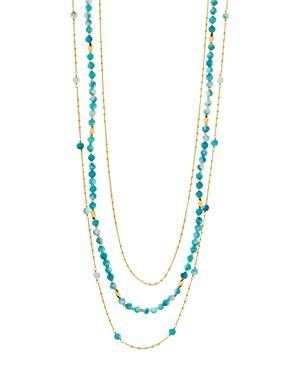 Gorjana Makena Layered Stone Necklace, 19