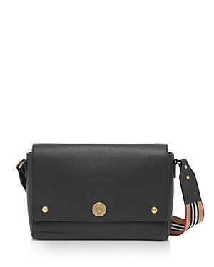 Burberry Grainy Leather Note Crossbody