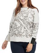 Nic+zoe Plus Snowbird Sweater