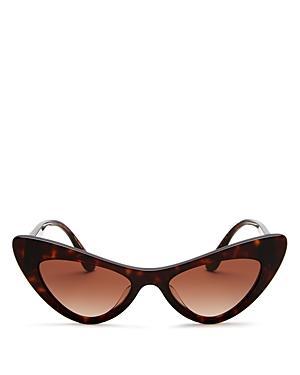 Dolce & Gabbana Women's Barocco Cat Eye Sunglasses, 52mm