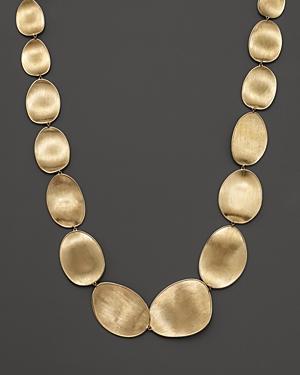 Marco Bicego 18k Yellow Gold Lunaria Collar Necklace, 18.5