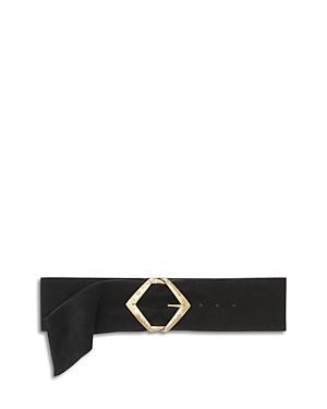 Ba & Sh Women's Buddy Leather Belt