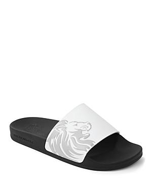 Bruno Magli Men's Messe Bologna Crest Slide Sandals