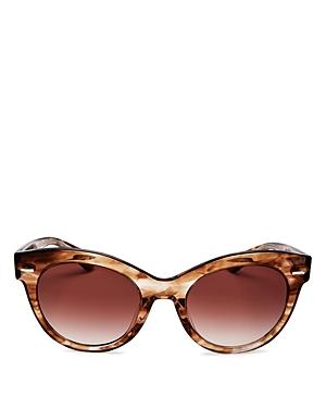 Oliver Peoples The Row Women's Georgica Cat Eye Sunglasses, 53mm