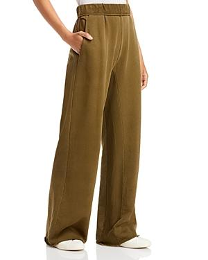 Frame Wide Leg French Terry Sweatpants